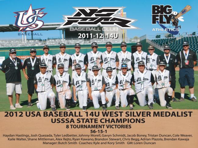 NO FEAR Baseball - Elite Youth Travel Teams